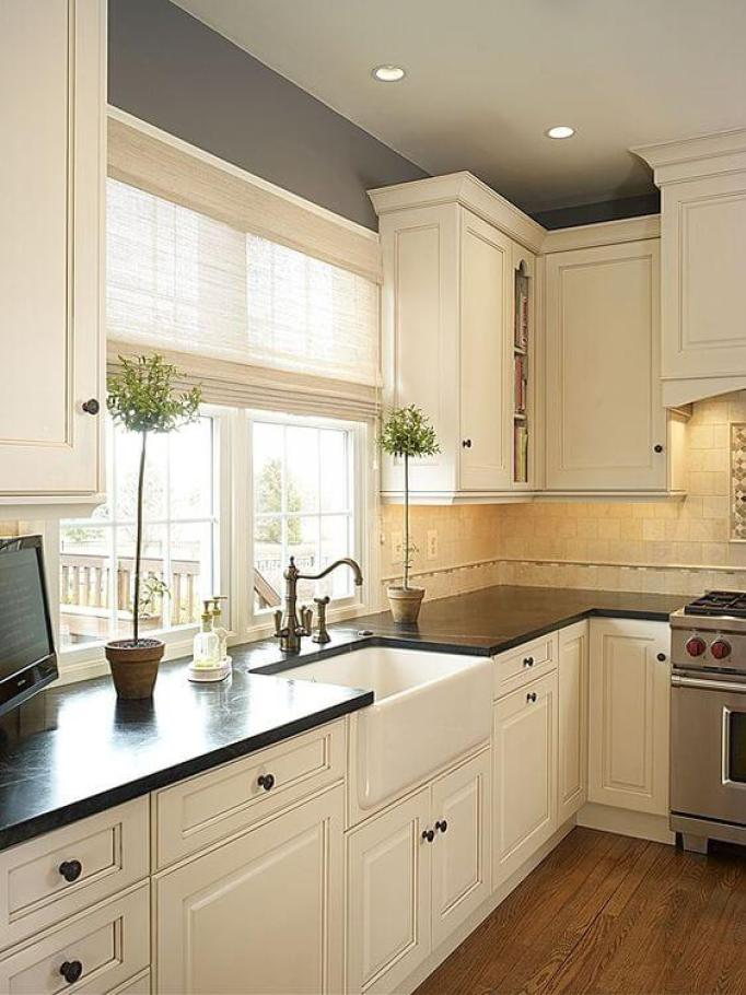 Best Paint Color For Off-White Kitchen Cabinets - 28 Antique White Kitchen Cabinets Ideas In 2018 LiquidImageCo