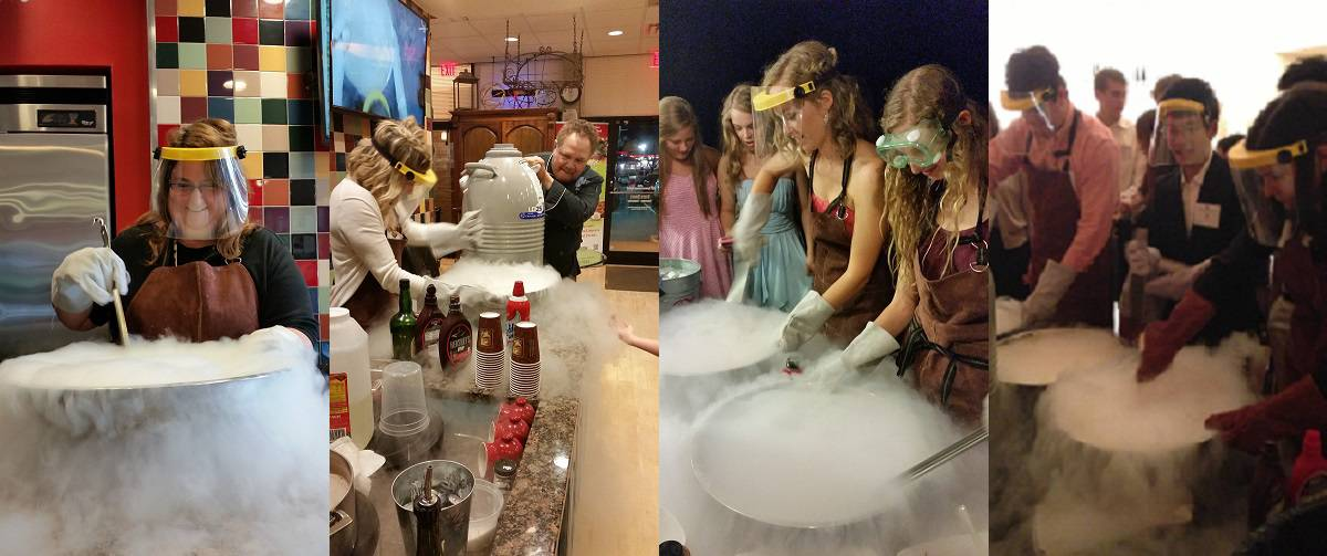 Liquid Nitrogen for wedding