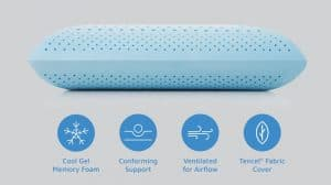 The Idle Cooling Gel Memory Foam Pillow