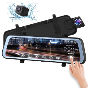 CHICOM V21 9.66 inch Mirror Dash Cam Touch Full Screen