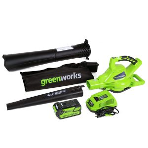 Greenworks Cordless leaf vacuum - Best for durability