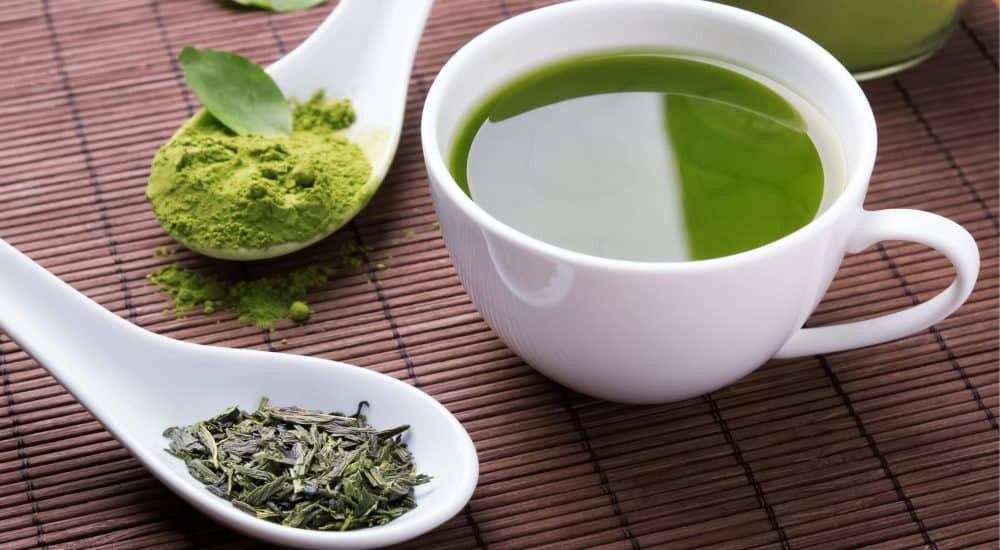 Image result for green tea caffeine