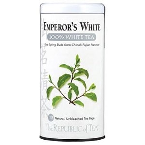 Emperor's 100% White Tea Bags – best affordable traditional white tea