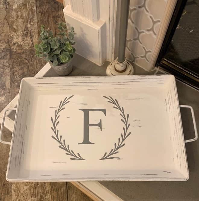 Metal Tea Tray