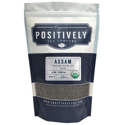 Positively Tea Company, Organic Assam TGFOP