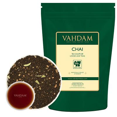 VAHDAM CHAI TEA SAMPLER—LOOSE TEA LEAVES