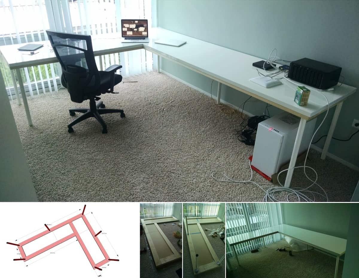 A Large Corner Desk