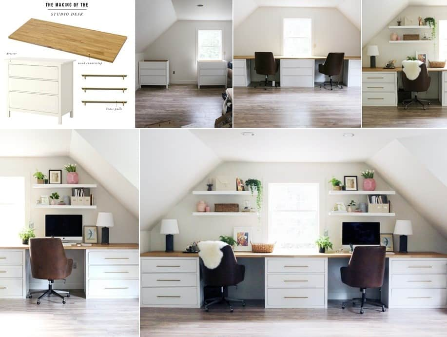 A Long Counter Style Table Hack