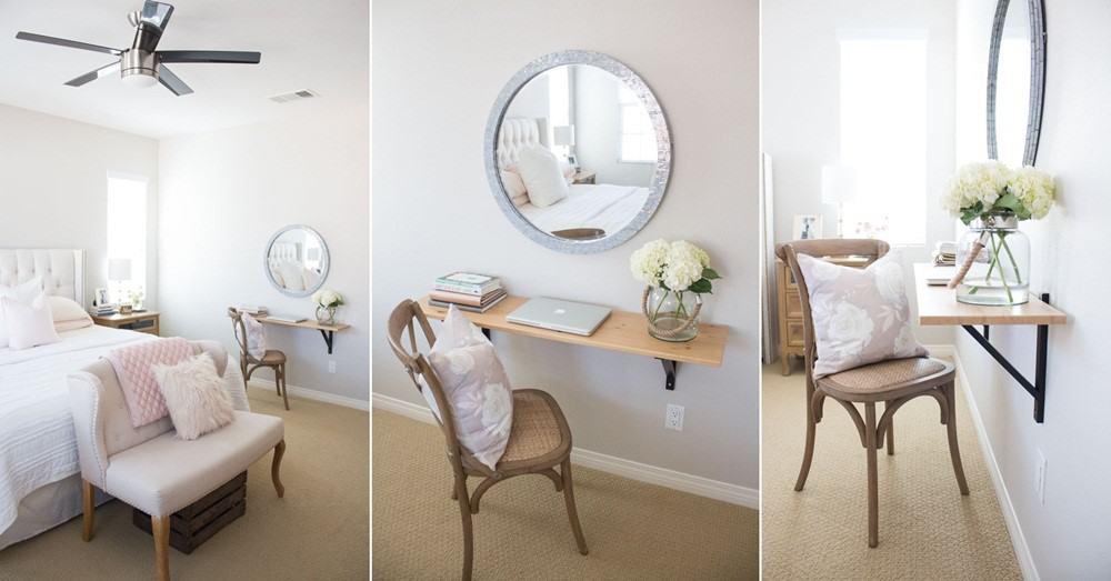 A Minimalist Shelf Table