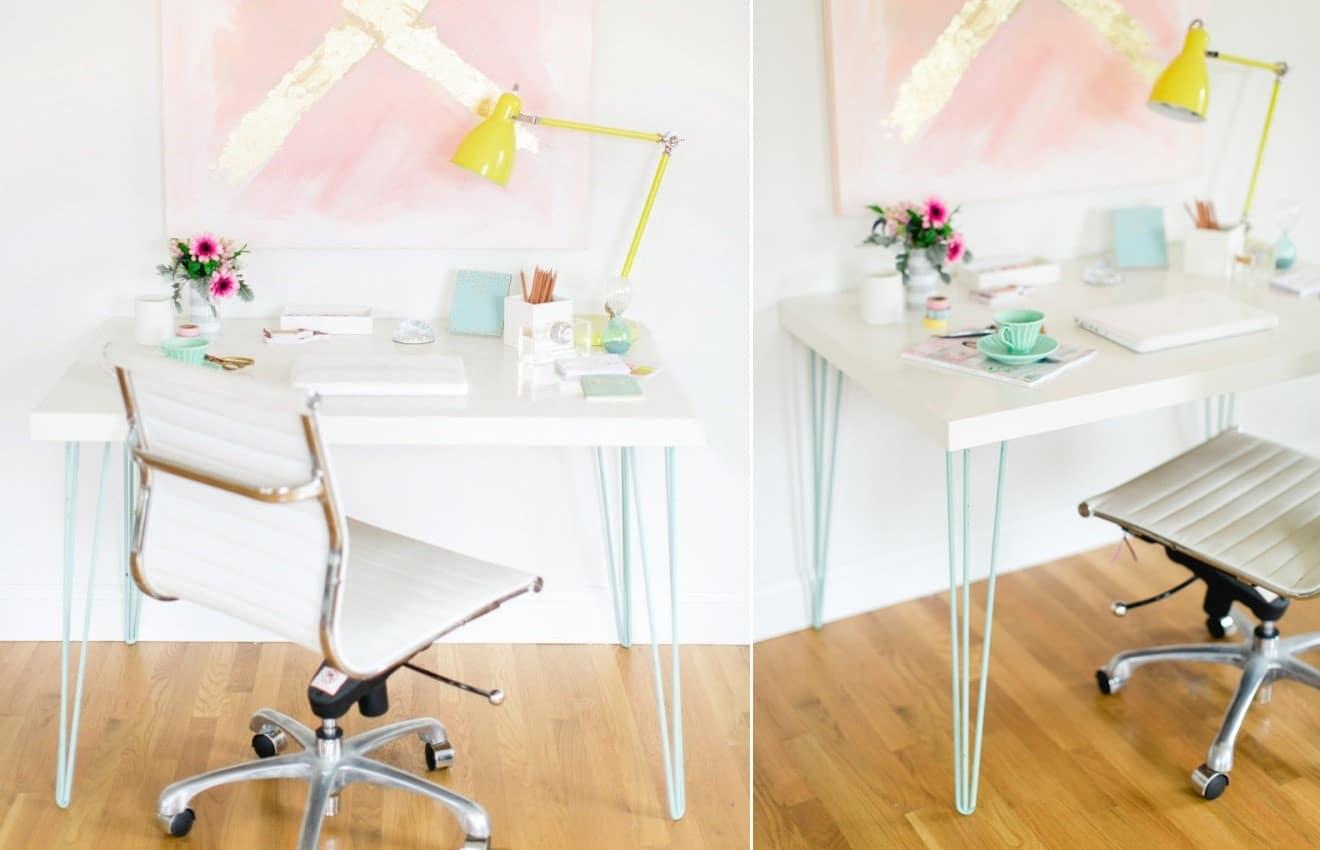 A Modern Hairpin Leg Table Hack
