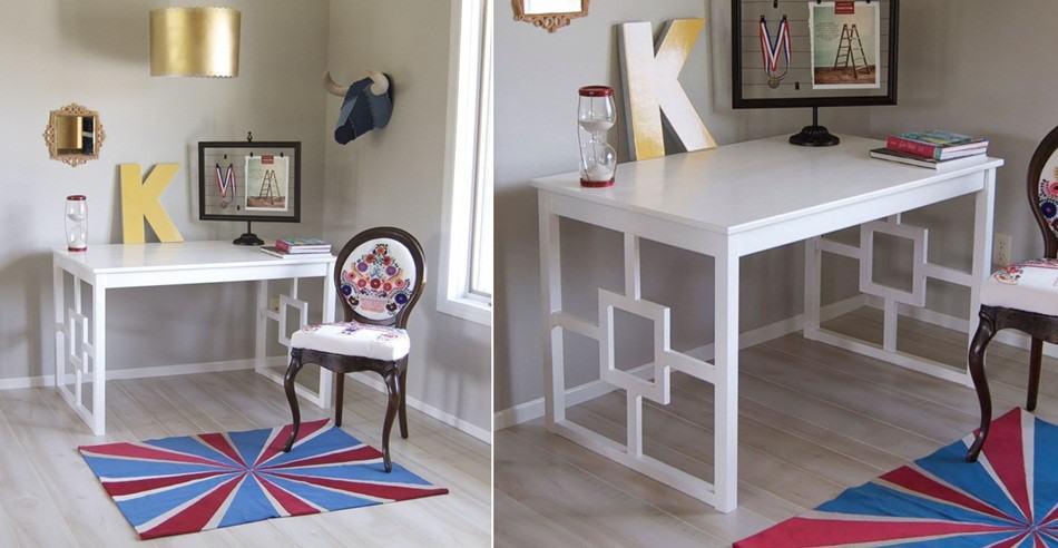 A Repurposed IKEA Ingo Table Hack