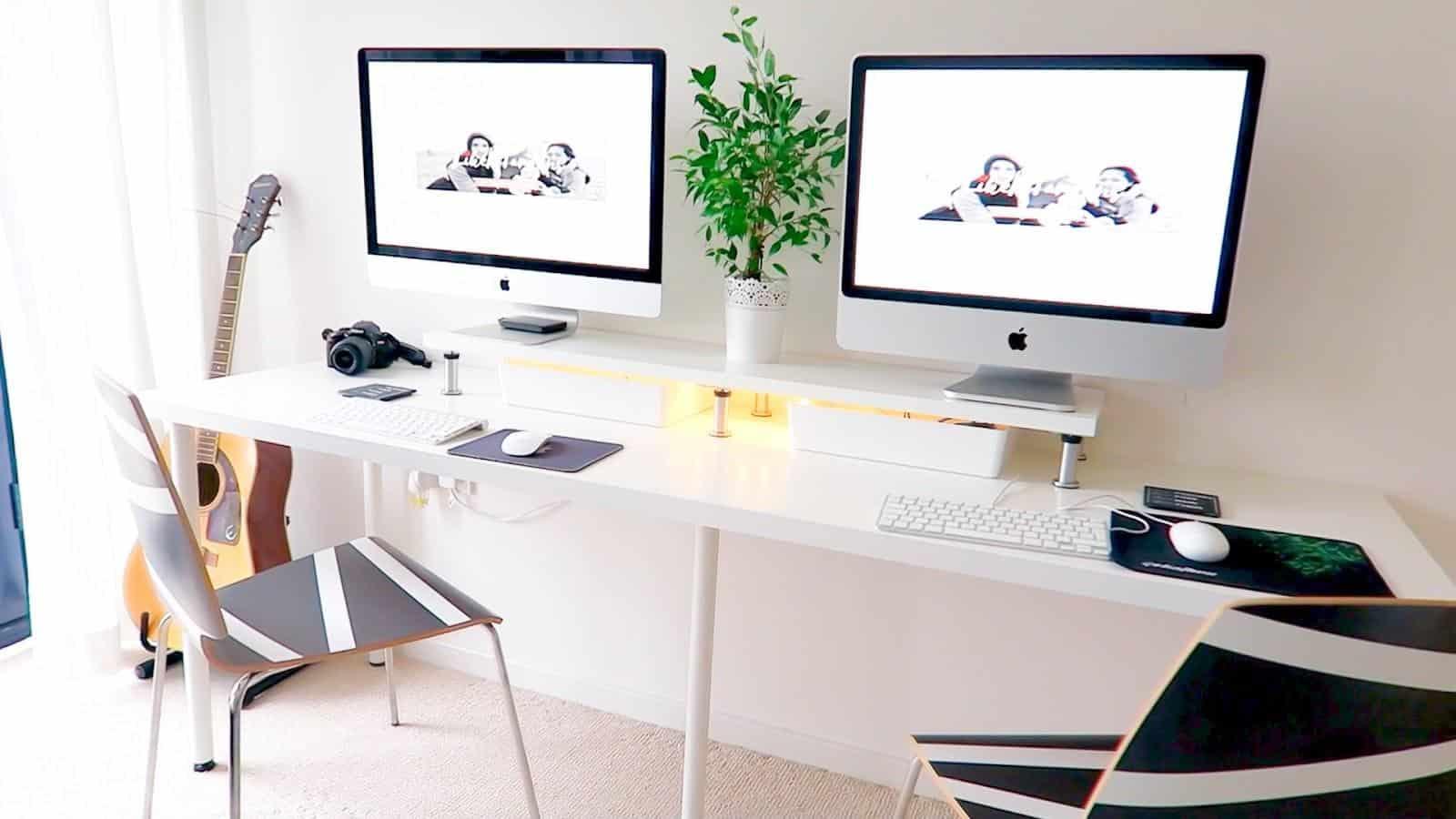 An IKEA Desk Setup Under $125