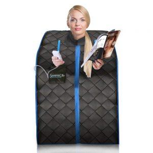 SereneLife Infrared Home Spa Portable Sauna