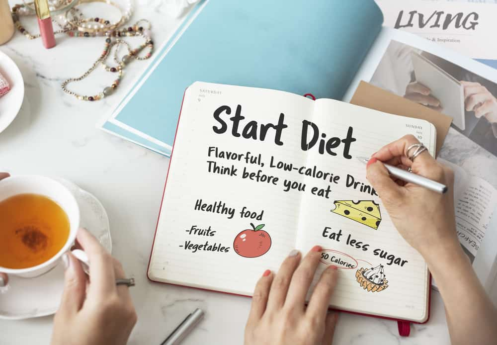 Start Diet Nutrition Eating Choice Weight Healthy Concept