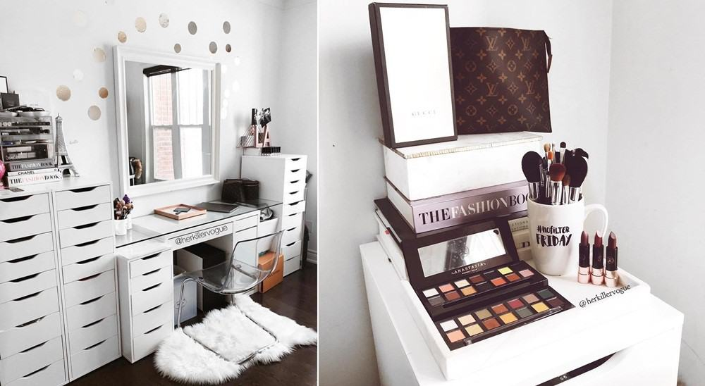 Vanity Table Perfect for an MUA