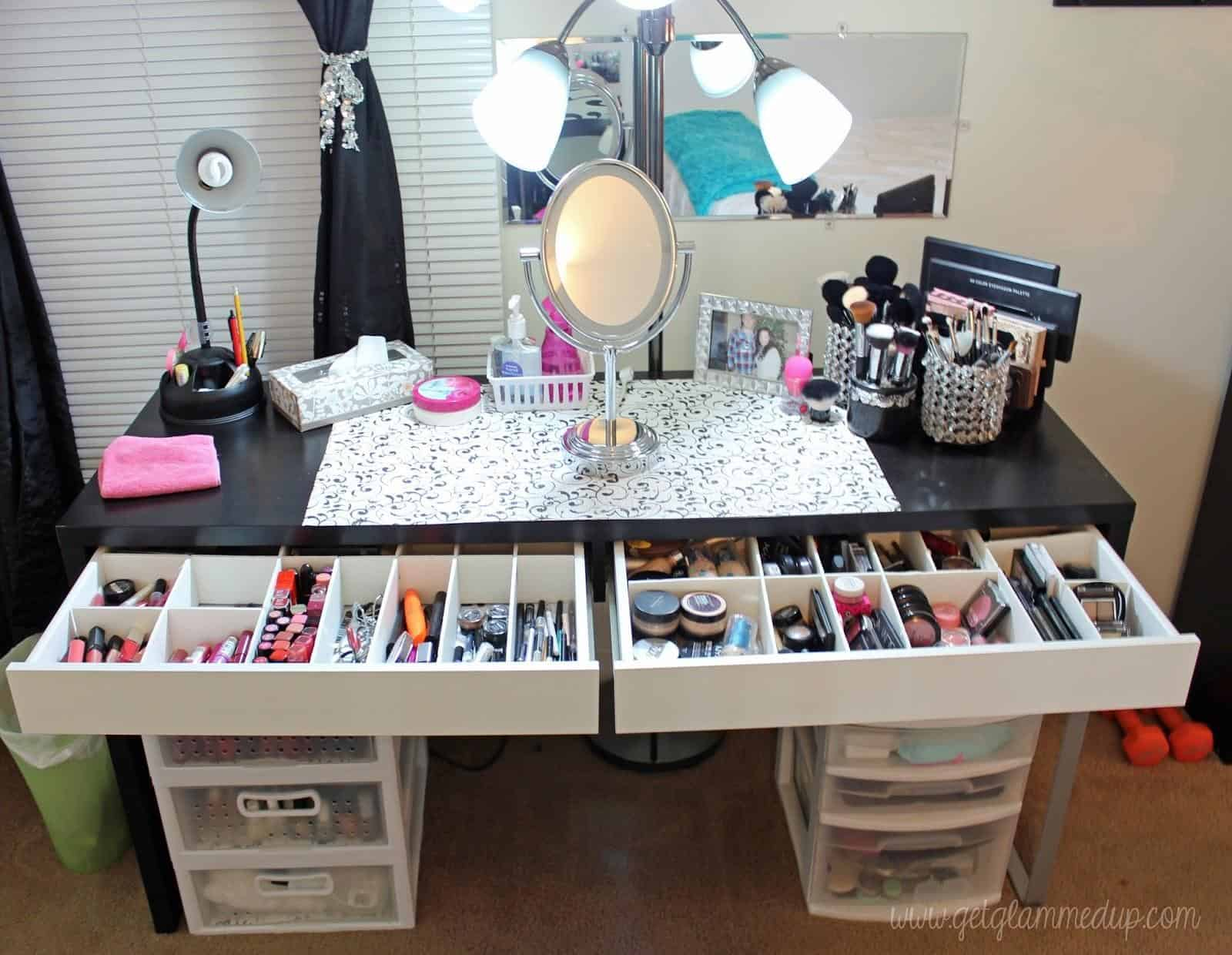 Vanity Table with Lots of Storage