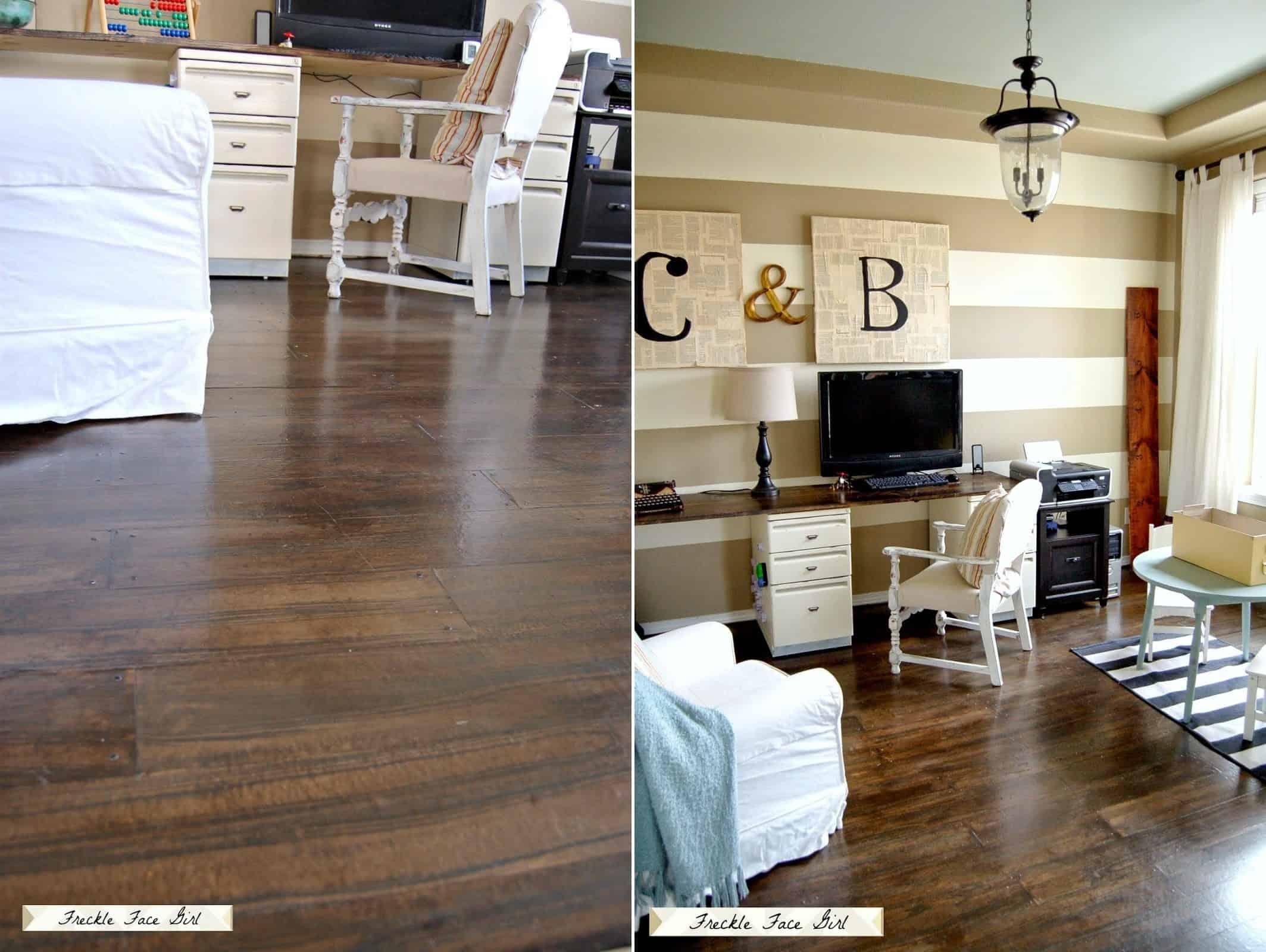 Brown Flooring That Seems Like Real Wood