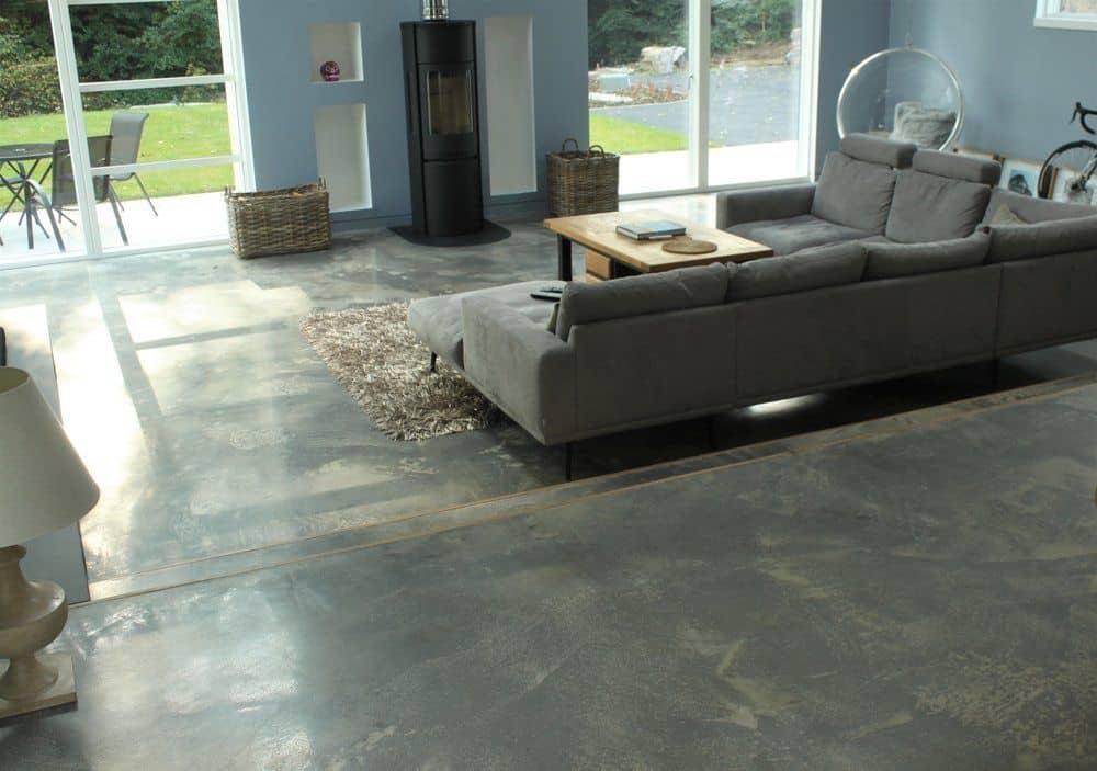 Lacquered Concrete Floors