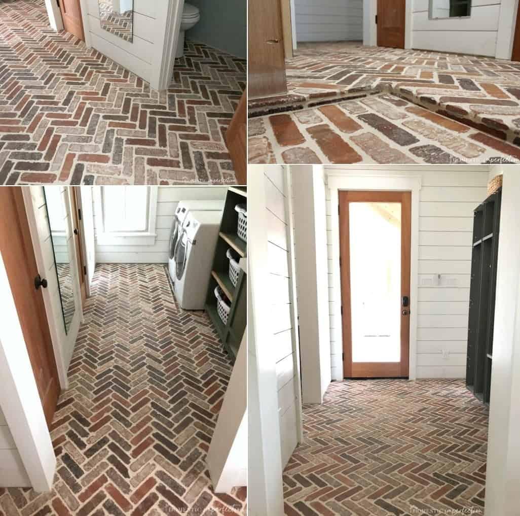 Thin Brick Paver Flooring