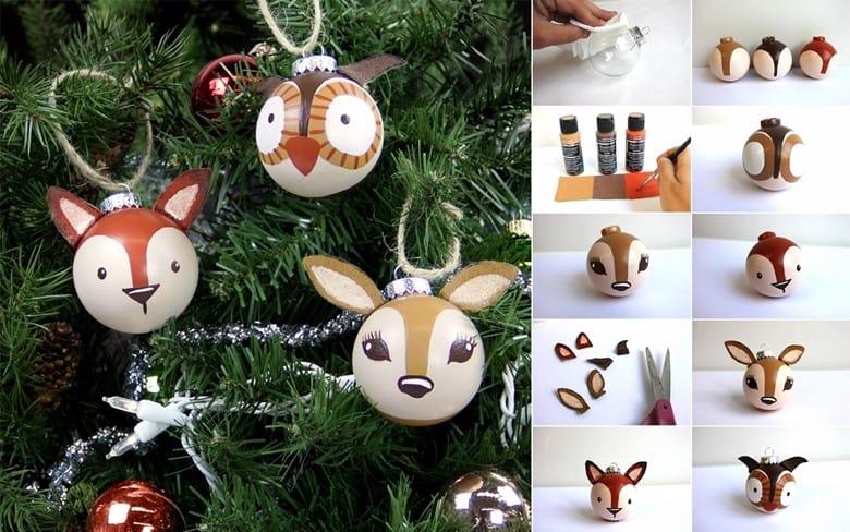 Woodland Animals Ornaments