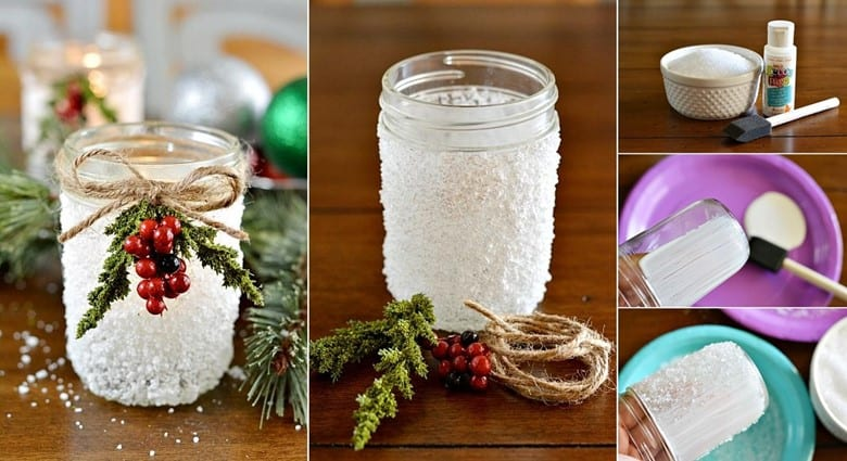 Snowy Christmas Lanterns