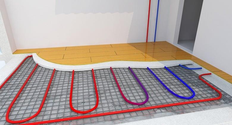 Radiant Underfloor Heating, Heating Systems, Warm floor, Under Floor Heating Systems