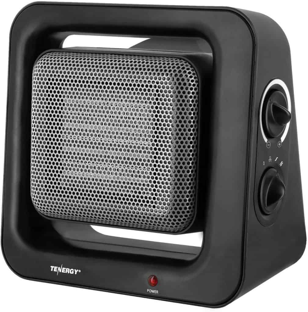 Tenergy 900W/1500W PTC Ceramic Heater best budget energy efficient heater