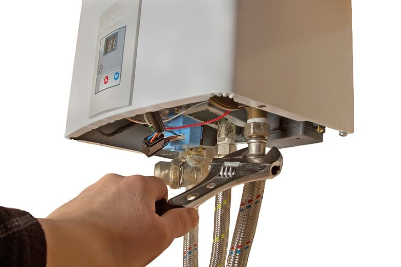 install and repair water heater