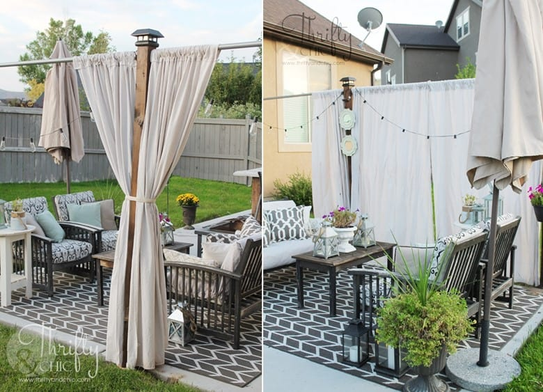 Pergola-Like Privacy Screen