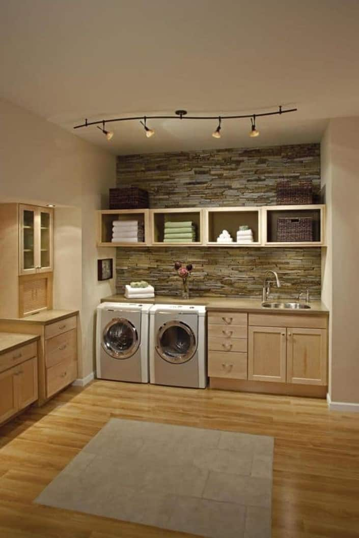 Basement Laundry Room Ideas for Large Spaces