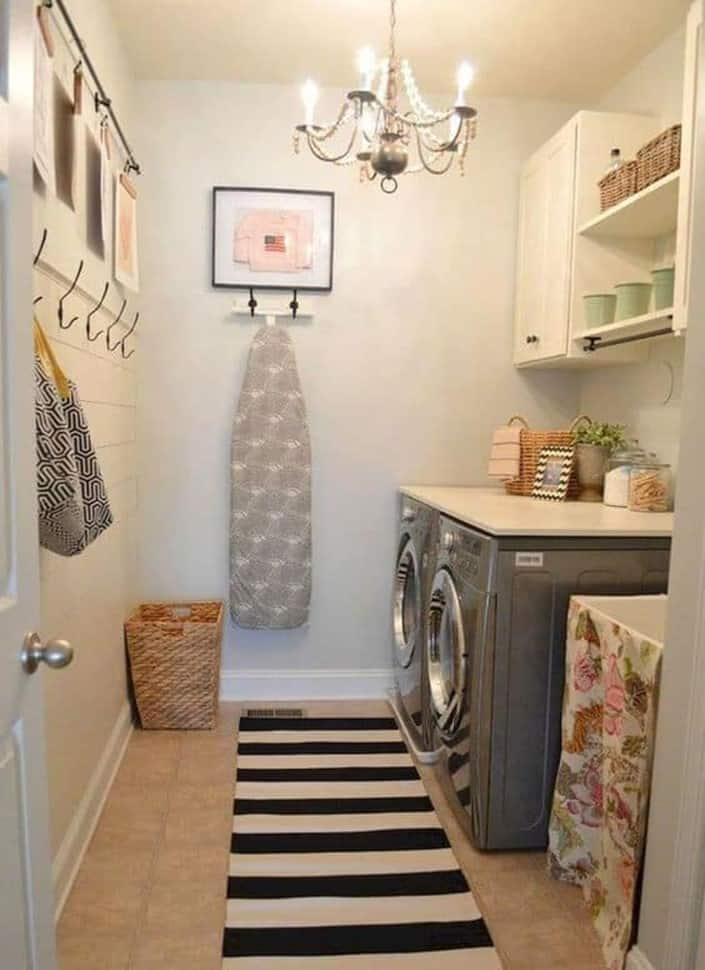 Vintage Basement Laundry Room