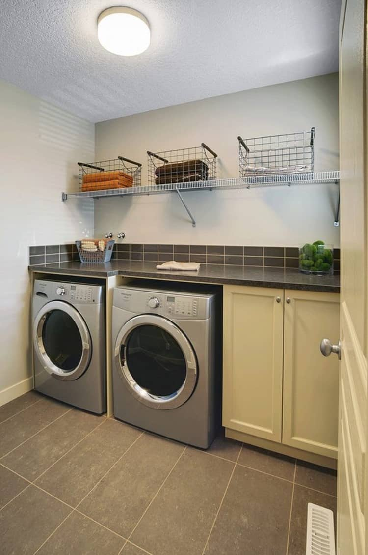 lighting to basement Laundry Room
