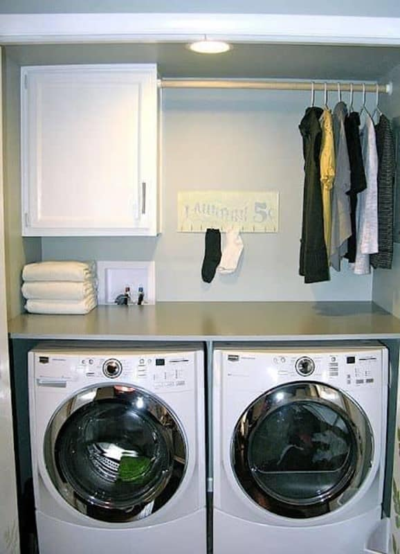 Basement Laundry Room Ideas for Small Spaces