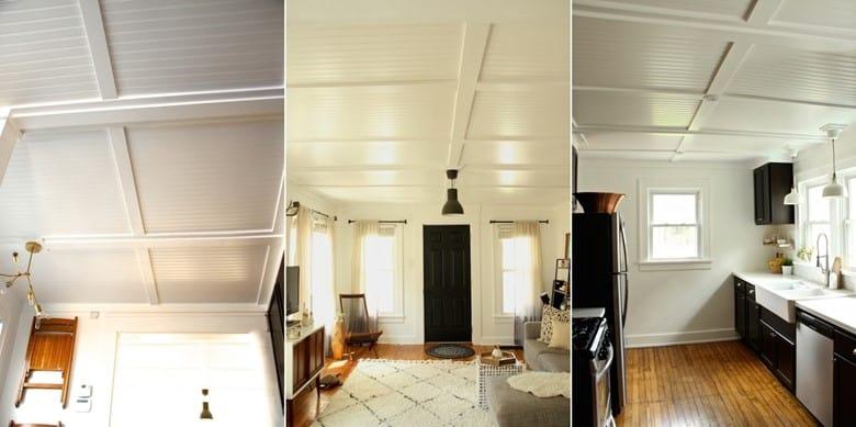 Beadboard Ceiling Texture