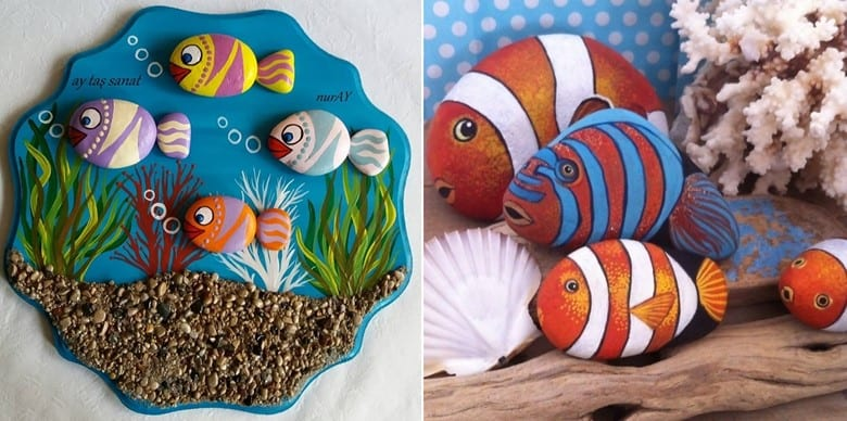Painted Rock Fish Aquariums