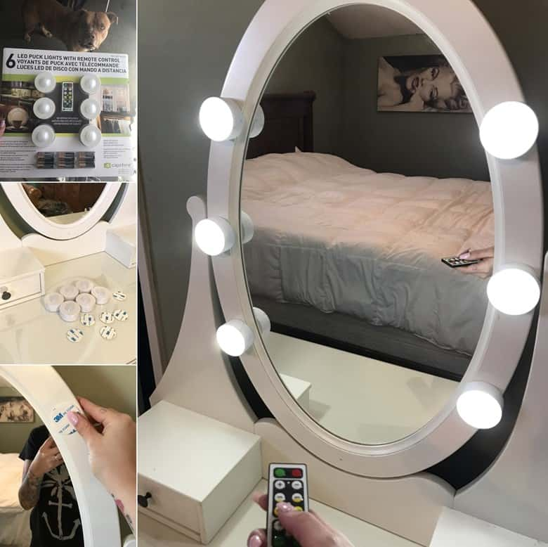 21 Diy Vanity Mirror Ideas Liquid Image
