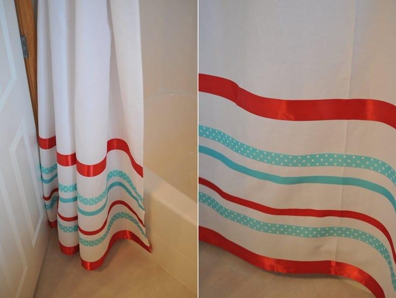Ribbon Embellished Curtains