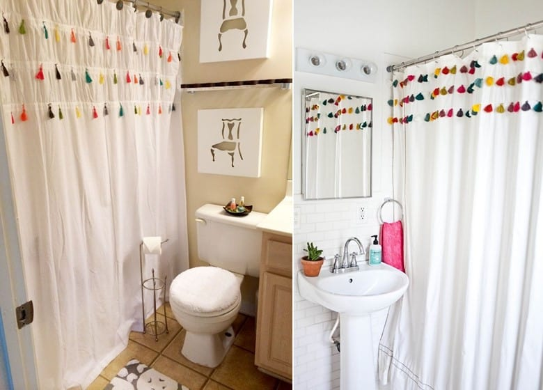 Anthropologie Tassel Curtains Knock Off