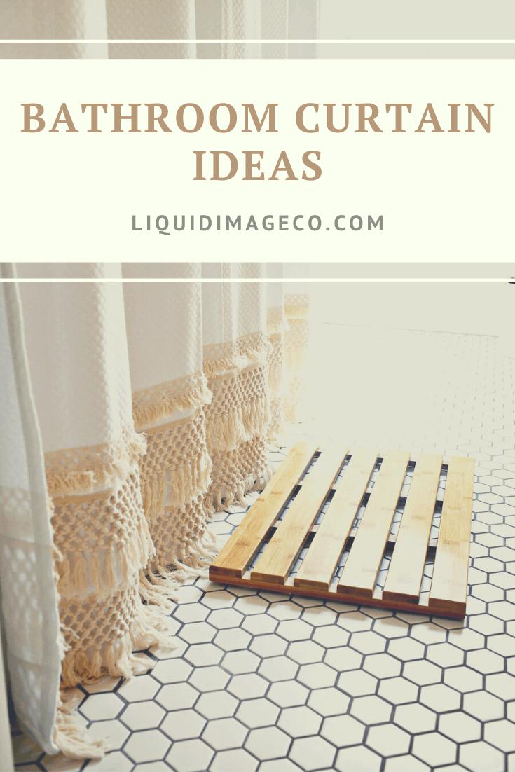 Bathroom Curtain Ideas LiquidImageco