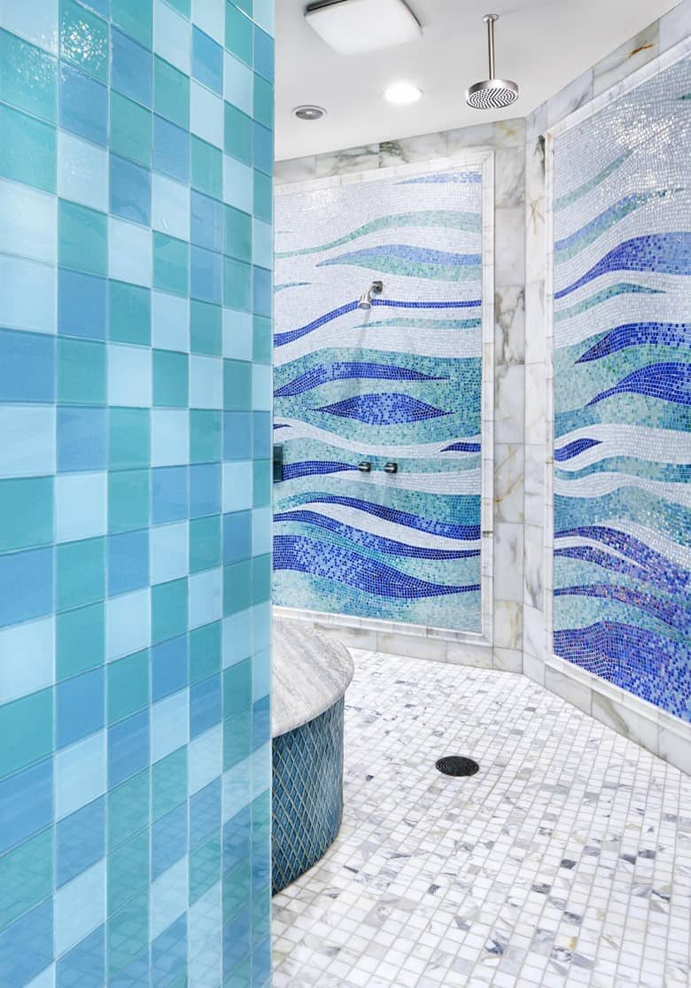 Mediterranian Style Bathroom Tiles