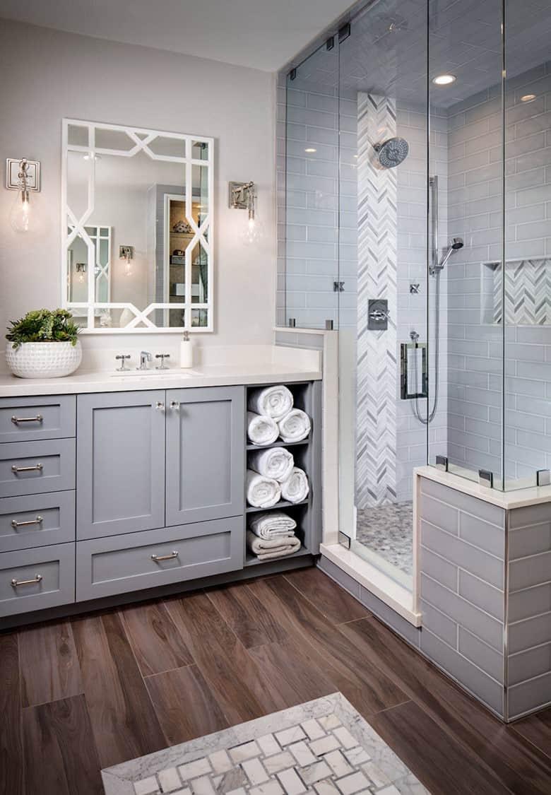 A Mixture of Gray Tiles
