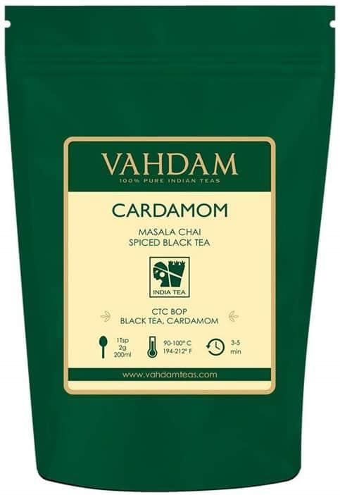 VAHDAM CARDAMOM MASALA CHAI SPICED BLACK TEA